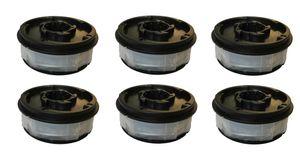 6 Spulen Ersatz Fadenspule passend für Gardenline EINHELL Rasentrimmer GLR GLT