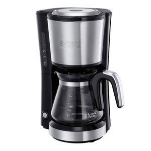 Russell Hobbs 24210-56 COMPACT Home Mini-Glas-Kaffeemaschine, Farbe:Schwarz