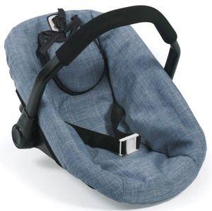 Bayer Chic 2000 708 50 Puppen-Autositz, Jeans Blue