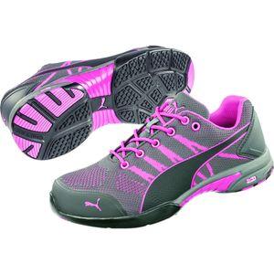 PUMA 642910 Celerity Knit Pink WNS Low S1 Damen Frauen 64.291.0 Arbeitsschuhe Sicherheitsschuhe, Schuhgröße:38