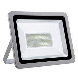 200W LED Strahler 20000LM Außenleuchte LED Fluter Außenstrahler Flutlicht IP65 Flutlichtstrahler Scheinwerfer Kaltweiß Licht für Garten, Garage, Sportplatz, Hotel, 1 Stück
