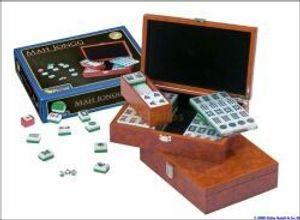 Philos 3166 - Mah Jongg, Designbox, mit arabischen Zeichen 4014156031661