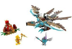 Lego 70141 Legends Of Chima Vardys Eis - Gleiter