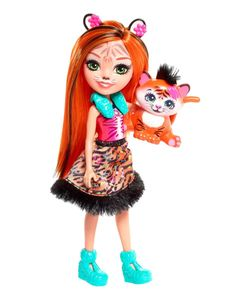 Enchantimals Tigermädchen Tanzie Puppe