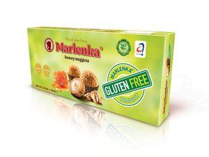 MARLENKA Glutenfreie Honigkugeln (Großpackungen 12 x 235g)