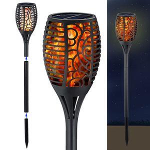 LED Solar Fackel 75cm - Garten - Leuchte