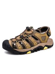 Abtel Herren Outdoor-Wander Sandalen Für Von Im Sommer,Farbe:Khaki,Größe:43