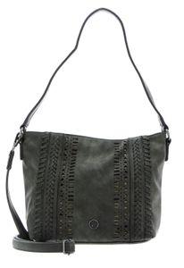 TAMARIS Damen Tasche Schultertasche Alfa Hobo Bag S 720 moss grau