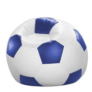 Fussball Sitzsack Kunstleder Ø 90 cm