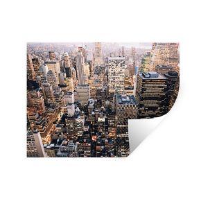 Wandaufkleber - New York - NYC - Amerika - 120x90 cm - Repositionierbar