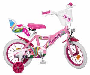 14 Zoll Kinder Mädchen Fahrrad Kinderfahrrad Mädchenfahrrad Mädchenrad Rad Fantasy pink 503