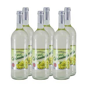 Gerstacker Weinschorle Weiß (6 x 1,0L) 6,00% vol. 6 L