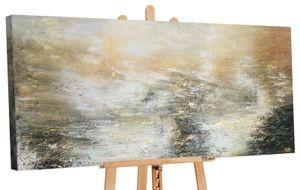 "YS-Art Premium Acryl Gemälde ""Kraft der Elemente"" PS 093 (100x50 cm)"