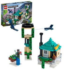 LEGO 21173 Minecraft Der Himmelsturm Set, Spielzeug für Kinder ab 8 Jahren mit einer Figur des Piloten
