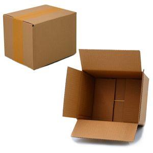 25 Faltkartons 190 x 150 x 140 mm Versandkartons aus Wellpappe 1 wellige Kartonverpackungen KK 20