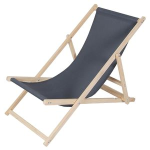 Strandliege Holz Liegestuhl Gartenliege Sonnenliege Strandstuhl Faltliege Freizeitliege Terassenliege Balkonliege Campingliege