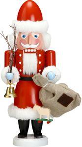 Nussknacker Weihnachtsmann 38 cm Seiffen Erzgebirge #11231