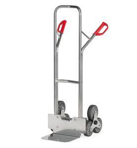 Fetra Aluminium-Treppenkarre, mit dreiarmigen Radsternen, Schaufelbreite 320mm