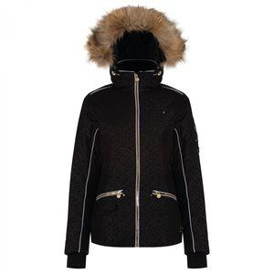 dare2b Damen Ski Jacke Skijacke INCENTIVISE JACKET black leopard print, Größe:42