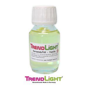 TrendLight - Kerzenduftöl Vanille 50 ml hochkonzentriert zum herstellen von Duftkerzen