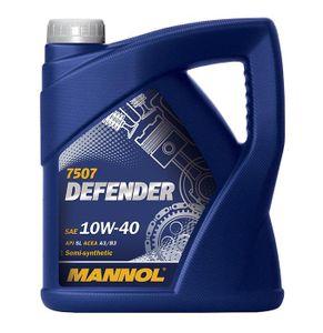 5 Liter MANNOL 10W-40 DEFENDER MB 229.1 VW 501 01 VW 505 00 VW 500 00 MB 229.3 PSA B71 2294 Renault RN0700 Renault RN0710