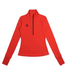 NIKE ACG Longsleeve Thermal Top Fitness-Shirt wärmendes Damen Langarmshirt Rot, Größe:L