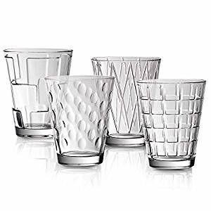 Villeroy & Boch Dressed Up Wasserglas Set 4tlg clear 105mm / 0,31 l 11-3620-8152