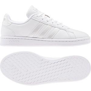 adidas GRAND COURT Damen Schuhe Sneaker Low Top EE8172 Weiß, Größe:UK 6 - EUR 39 1/3 - 24.5 cm