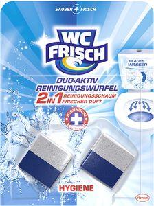 WC FRISCH Duo-Aktiv Hygiene Reinigungswürfel 100g WC Reiniger WC Reinigung