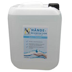NURFUERDICH NEU 10 L Desinfektionsmittel Hände Flächen Haut Oberflächendefinition Germany