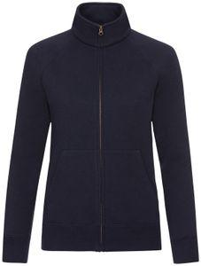 Fruit of the Loom Premium Sweat Jacket Lady-Fit, Farbe:deep navy, Größe:2XL