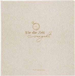 Fotoalbum Wortreich grau 25x25 cm