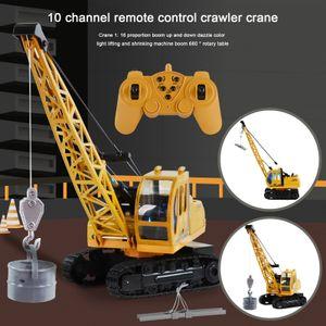 1:16 RC 10-Kanal Traktor LKW Bagger Auto 2.4G Fernbedienung Enginee-Crane