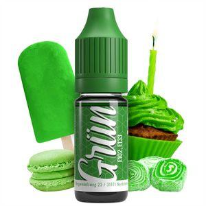 Lebensmittelfarbe Grün extrem hoch konzentriert, flüssig zum Färben von Getränken, Teig, Toppings und allen anderen Lebensmitteln