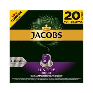 Jacobs Kapseln Lungo Intenso | 20 Nespresso® komp. Kapseln
