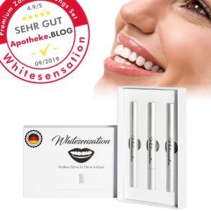 Whitesensation Zahnaufhellung Gel Nachfüll-Set (3 Stifte / 6 Tage Kur) | Teeth Whitening Refill | Gegen Gelbe Zähne & Verfärbungen | Teeth-Whitening Kit zum Zähne aufhellen | Zahnweiß-Bleaching | Zahnaufheller
