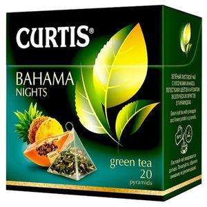 Curtis grüner Tee Bahama Nights 20 Pyramidenbeutel Pyramid green Tea Grüntee