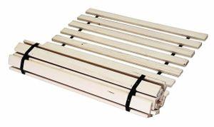 Best For You Rollrost 90x160 aus 10 massiven stabilen Holzlatten Geeignet für alle Matratzen