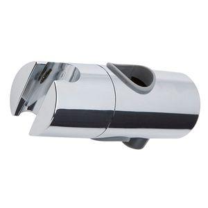 Brausegarnitur Ersatzgleiter Ø 18mm, Duschgelenk, Duschkopfhalter mit Druckknopf