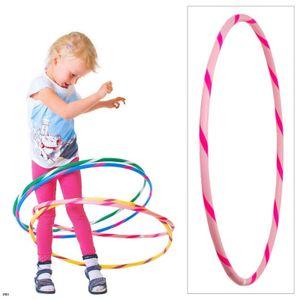 Bunter Kinder Hula Hoop für kleine Profis, Ø80cm, Rosa-Pink