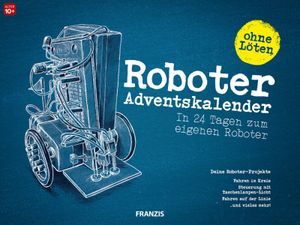 Franzis Adventskalender Roboter Bausatz Baukasten