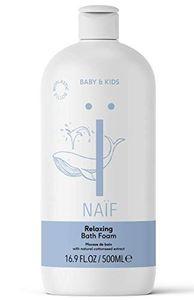NAÏF natürlicher Badeschaum - für Baby & Kinder