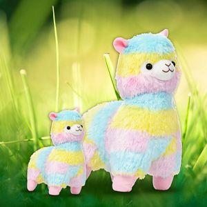 50cm Bunt Plüschtier Alpaka Kuscheltier Stofftiere Lamas Alpakas Spielzeug