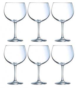 6 Gin Tonic Kelche / Gläser 70cl Cosy Moments Cocktailglas