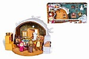 """Simba Toys Masha SpiEvi Loveset """"Winter Bärenhaus"""""""