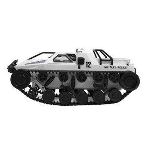 1/12 RC Militärfahrzeug Panzer Spielzeug 2,4 GHz 4WD High Speed Racing RC Panzer Weiß 34,3 x 17,4 cm RC Panzerspielzeug RC Spielzeug