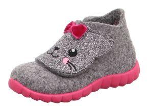 Superfit Kinder Hausschuhe  Textil grau 25