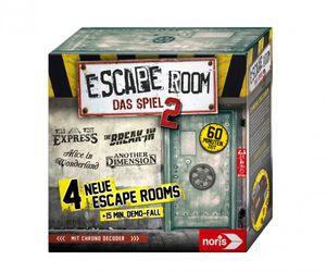 Noris Spiele NORIS 606101891 Escape Room 2 Das Spiel,Familienspiel