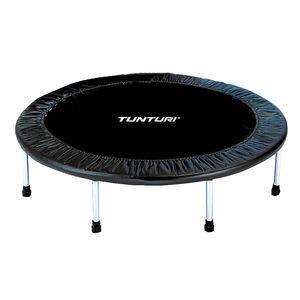 Mini-Trampolin für Indoor, Fitnesstrampolin in 95 cm oder 125 cm, Trampolin für Sport und Ausdauer, cm:125