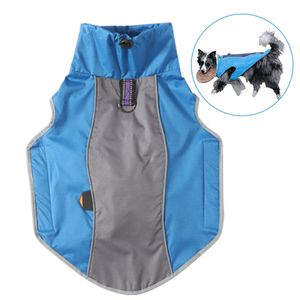 Reflektierend Hundemäntel Blau XXXL